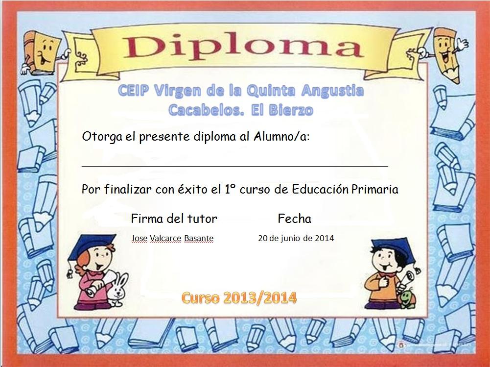 Pics Photos - Diplomas Final Curso Para Del Padre Dibujos Certificados